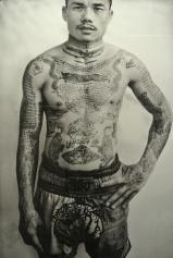 Yonyuk Watchiya, combattant et entraineur de boxe thaïlandaise. Thaïlande, 2008-2011