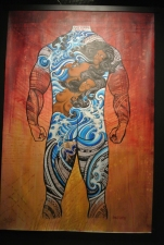 Projet de tatouage, Steve Looney. Hawaii, 2013
